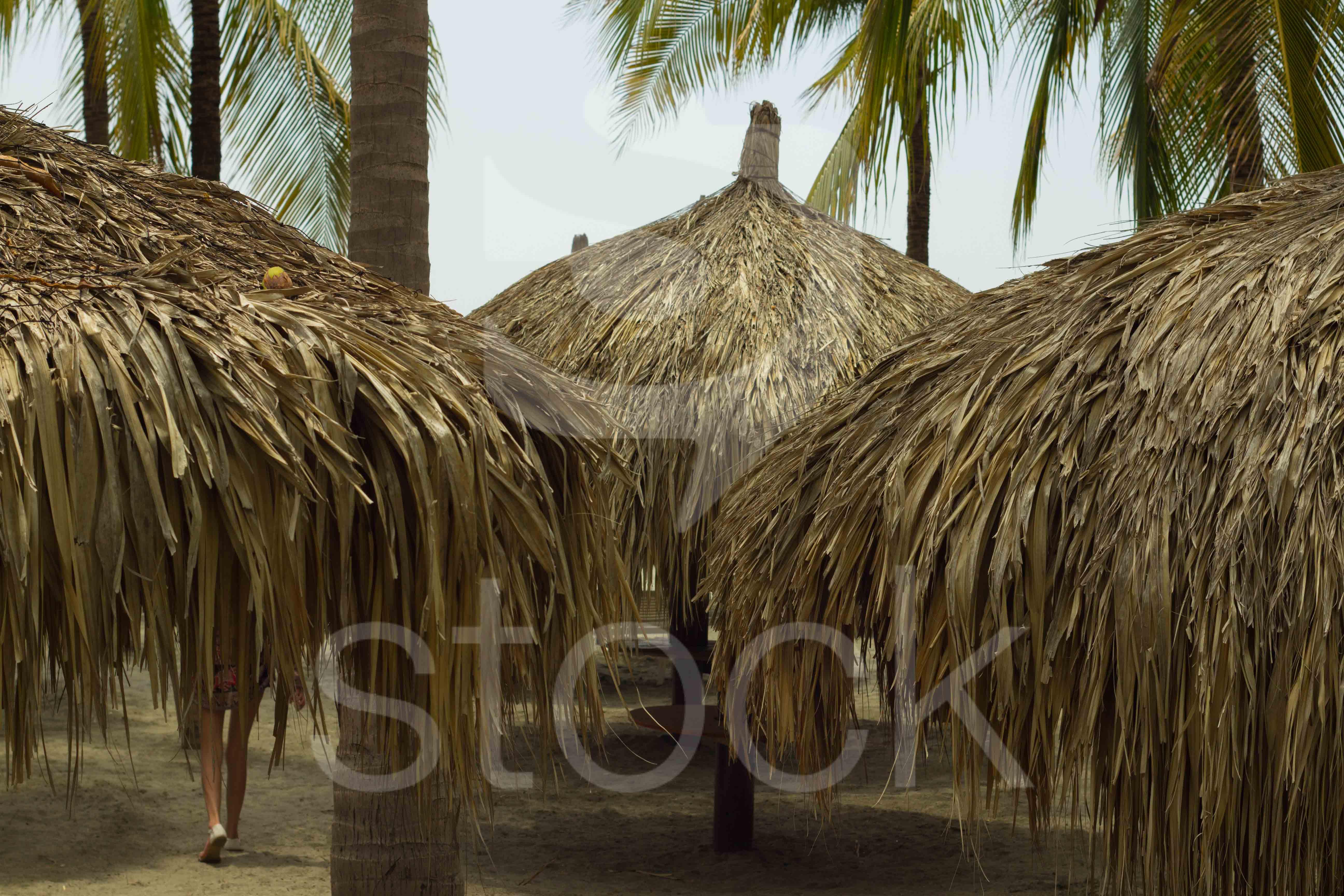 Caba as playeras de la costa atlantica playa de santa - Cabanas en la playa ...