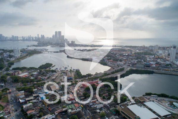 Cartagena de indias nublado.